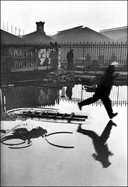 Behind the Gare St. Lazare. Henri Cartier-Bresson