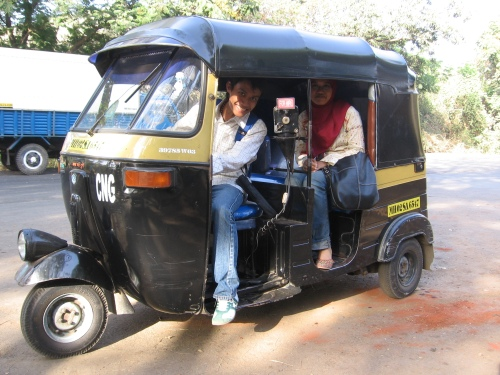 Ado dengan Bajaj India. Source: Ado